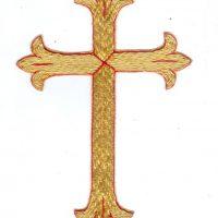 108 cross in size 6 inch