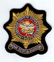 CANADIAN CORPS OF COMMISSIONAIRES-SIZE 4 X 3.5 - Copy