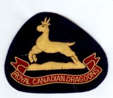 ROYAL CANADIAN DRAGOONS-SIZE 3.2 X 4 PO1019582 - Copy