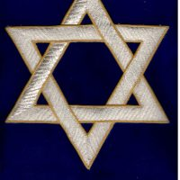 STAR OF DAVID 43X33 CM(EMB.20X20CM)
